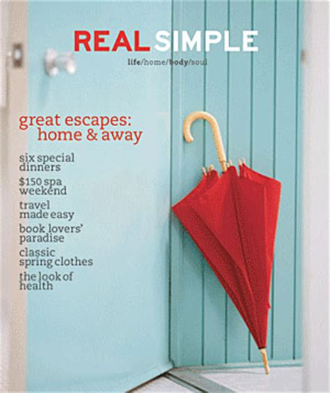 real simple design quot real simple quot frugal decorating