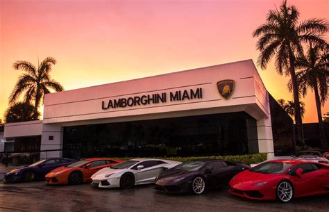 lamborghini dealership about lamborghini miami a north miami beach fl dealership