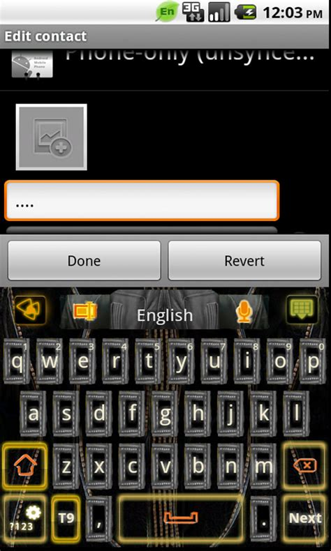 download themes go keyboard for android leather theme go keyboard free android app android freeware