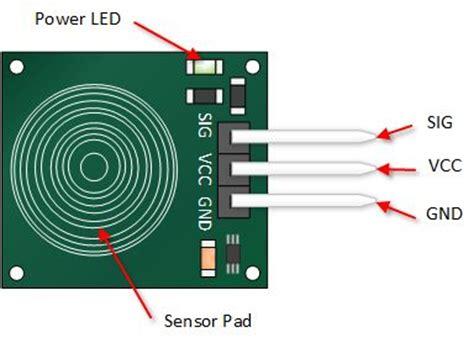 capacitive sensor project catalex ttp223b arduino capacitive touch sensor tutorial arduino arduino