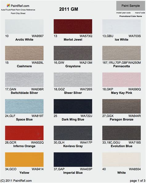 2014 chevy tahoe color chart html autos post