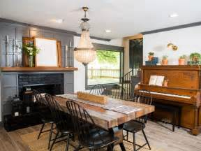 Hgtv Traditional Kitchens - hgtv fixer upper brick house is old world charm for newlyweds