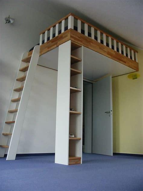 hochbett mit treppenaufgang die besten 17 ideen zu hochbett bauen auf