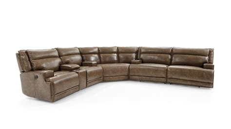 3 piece reclining sectional sofa futura leather e1270 e1270 248 e1270 207 m1270 125 1421h