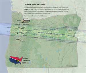 map of oregon totality front page science