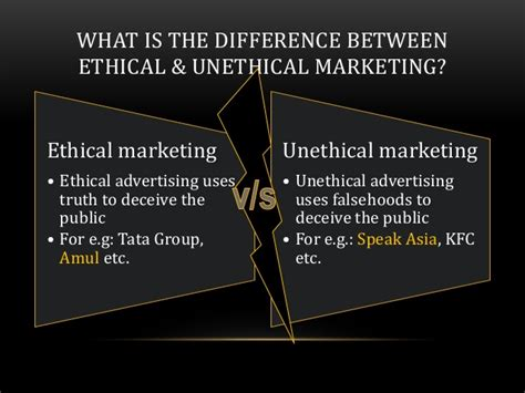 The Ethical Adman Advertising In The Pubic Interest | ethical vs non ethical marketing