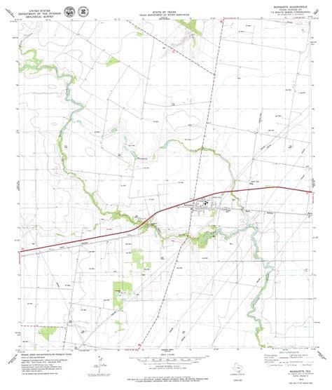 banquette tx banquete topographic map tx usgs topo quad 27097g7