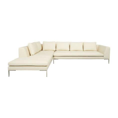 sofa piel chaise longue montino sof 225 de piel estriada beige de 3 plazas con