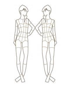 croquis fashion corpo de croqui