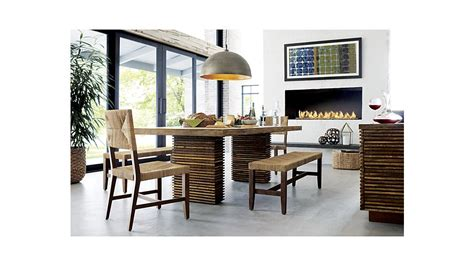 crate and barrel dining table home decorating ideas paloma ii reclaimed wood dining table crate and barrel