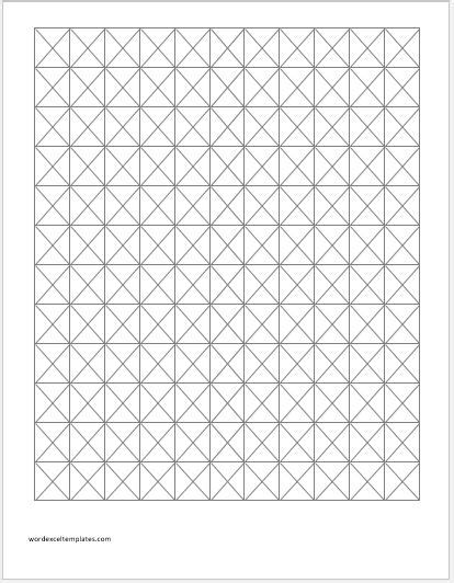 isometric grid template isometric graph papers for ms word word excel templates