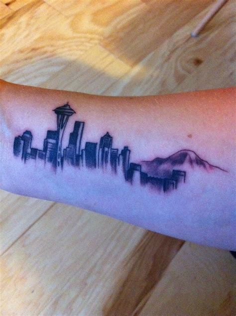 seattle skyline tattoo my seattle skyline by marco yelp