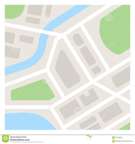 simple layout vector simple map illustration stock vector illustration of