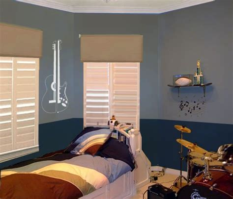 two tone blue bedroom boys bedroom themes paint my home style