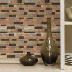 Stick On Kitchen Backsplash 4 Pack Peel And Stick Decals Kitchen Bathroom Backsplash Wall Tile 10 5 Quot X 10 5 Ebay