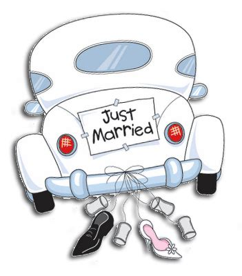 clipart sposi scrap with oggi sposi just married