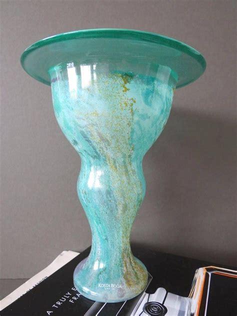 Kosta Boda Glass Vase by Vintage Kosta Boda Glass Vase Kjell Engman Artist