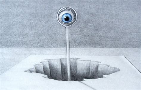 imagenes en 3d faciles how to draw a 3d optical illusion with pencil fine art