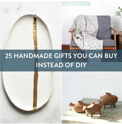 Buy Handmade Gifts - 25 handmade gifts you should buy not diy 187 curbly diy