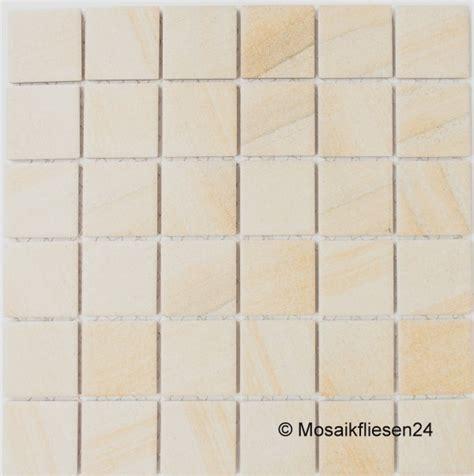 Qm Berechnen Wand by 1 Karton 0 93 Qm Keramikmosaik Natursteinoptik Beige Matt