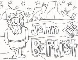 coloring pages for john the baptist birth 83 coloring page john the baptist gallery of