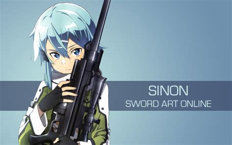 50x150cm sized sword sao sinon print anime wall sword sinon 2 by spectralfire234 on deviantart