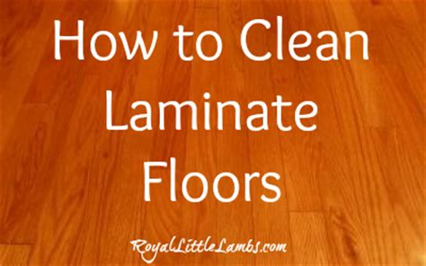 cleaning laminate flooring 101