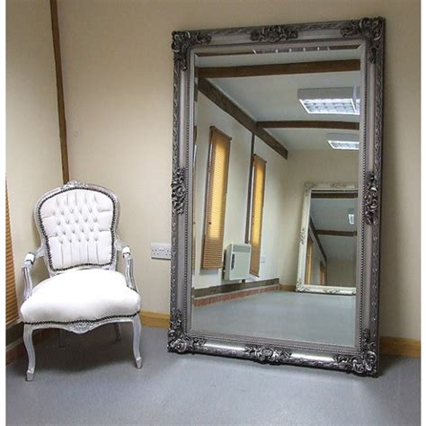 where must big wall mirrors be best decor things paris extra large shabby chic antique style leaner wall