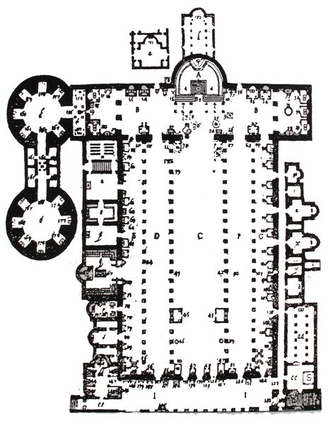 old st peters basilica plan architecture of cathedrals ancient roman basilicas apses and early christian