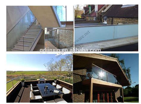 glasgelã nder verkleidung design balkon