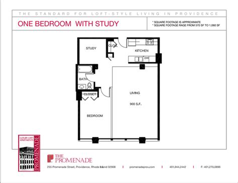 one bedroom apartments in ri the promenade located at the foundry apartments