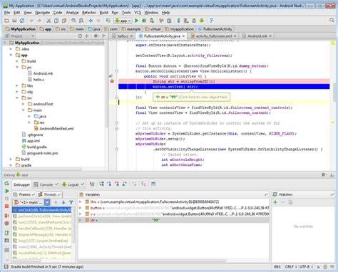 android studio exle tutorial co debugging jni with android studio and visual studio