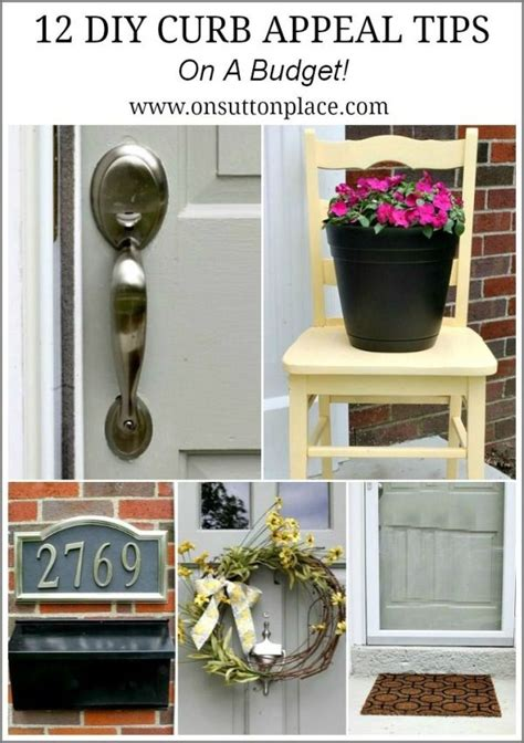 diy curb appeal diy curb appeal tips on a budget by alyson home front