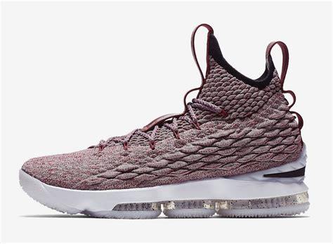 the nike lebron 15 gets covered in shades of kicksonfire