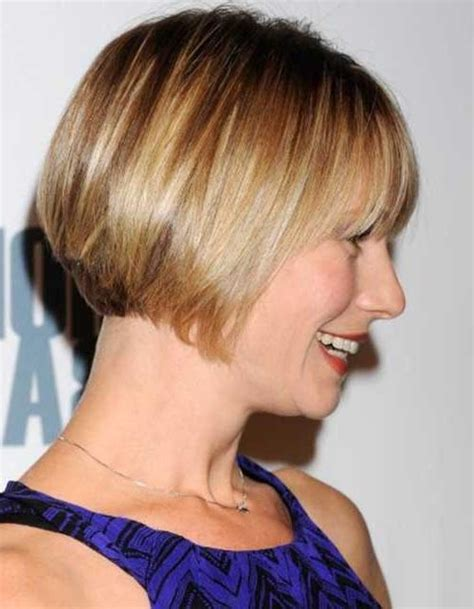 becoming hairstyles for straight stringy fine hair 2018 popular inverted bob haircuts for fine hair