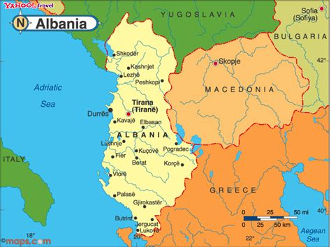 Albania Search Albania On World Map Images