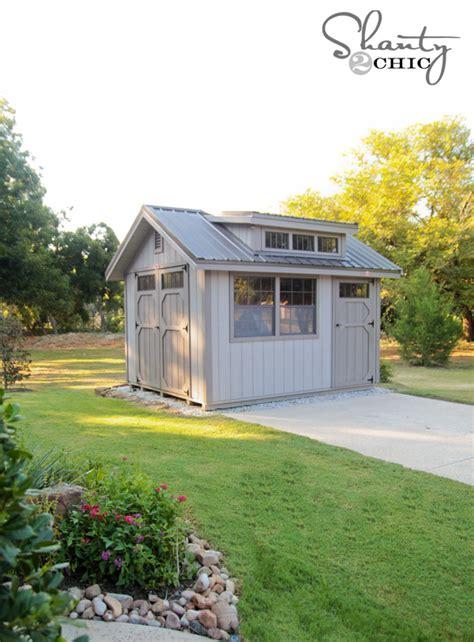 storage shed shanty  chic