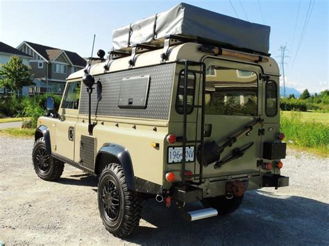 land rover overland 1990 land rover defender 110 expedition overland