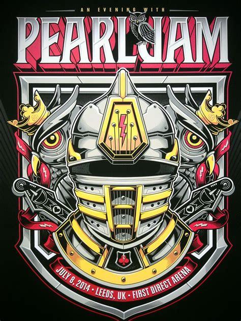 leeds fest tattoo 43 best pearl jam posters images on pinterest pearl jam