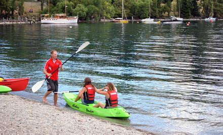 paddle boats queenstown kayak paddle boat or aqua boat hire grabone