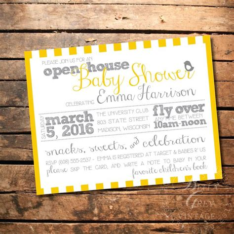 Come And Go Baby Shower Invitations by Best 25 Open House Invitation Ideas On Grad
