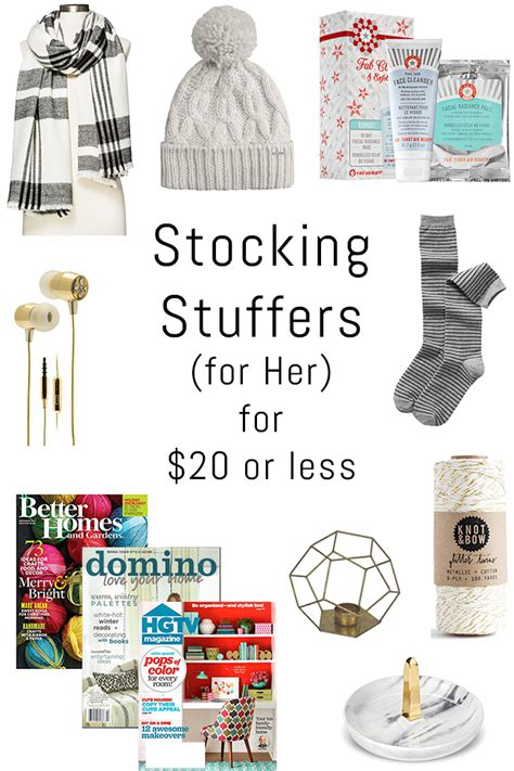 good stocking stuffers for wife holiday gift guide stocking stuffers for 20 or less