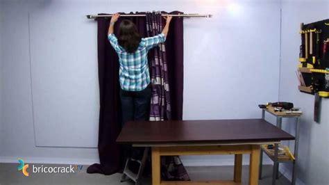 barra doble cortina colgar cortinas bricocrack
