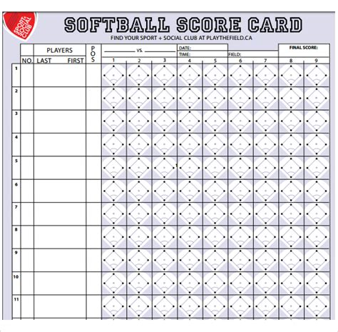 tally a polyamorous large print edition books sle softball score sheet 10 documents in pdf word