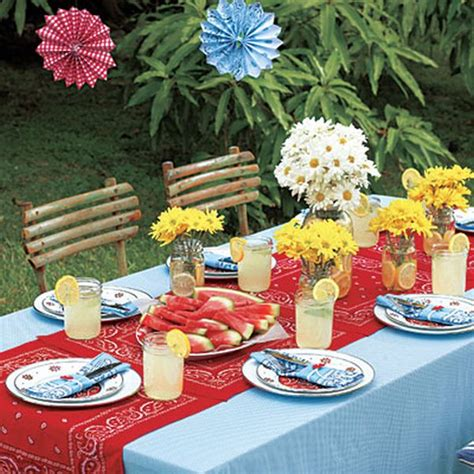 backyard barbecue party ideas 13 most festive d 233 cor ideas for a successful memorial day