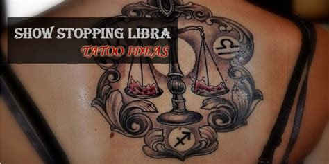 libra tattoos designs 50 show stopping libra designs
