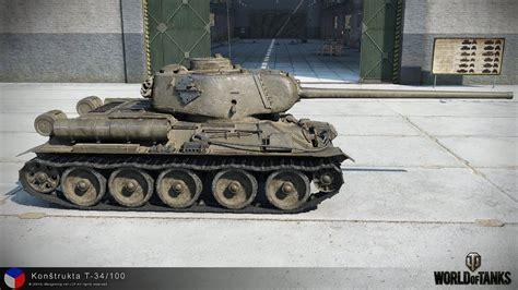 WoT Konstrukta T-34/100 tier VII Czechoslovakian - YouTube T 34 American