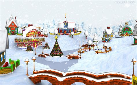 wallpaper christmas village snowy christmas village hd wallpapers blog