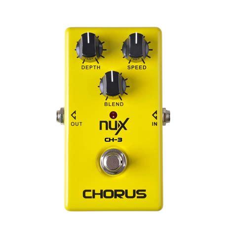 Nux Chorus Ch 3 disc nux ch 3 chorus guitar effects pedal gear4music