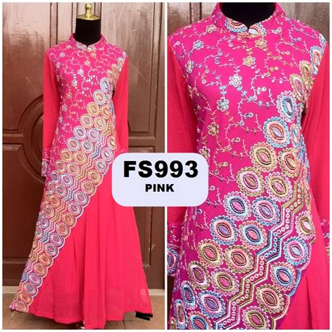 Gamis Pesta India baju pesta india model baju sari india terbaru fika shop